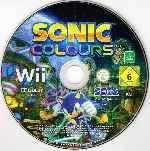 miniatura Sonic Colours Cd Por Humanfactor cover wii