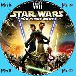 miniatura Star Wars The Clone Wars Cd Custom Por Menta cover wii