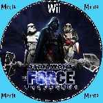 miniatura Star Wars The Force Unleashed Cd Custom V2 Por Menta cover wii