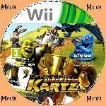 miniatura Super Star Kartz Cd Custom Por Menta cover wii