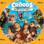 miniatura The Croods Prehistoric Party Cd Custom V2 Por Menta cover wii