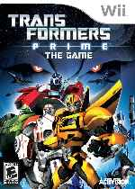 miniatura Transformers Prime The Game Frontal Por Humanfactor cover wii