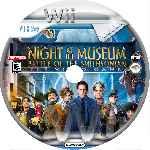 miniatura Una Noche En El Museo Cd Custom Por Mila0218 cover wii