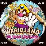 miniatura Wario Land The Shake Dimension Cd Custom V3 Por Menta cover wii