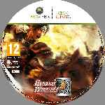 miniatura Dynasty Warriors 8 Cd Custom Por Nitsuga256 cover xbox