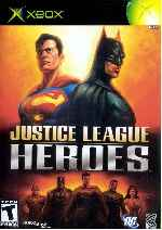 miniatura Justice League Heroes Frontal Por Humanfactor cover xbox