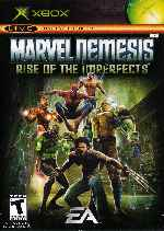 miniatura Marvel Nemesis Rise Of The Imperfects Frontal Por Humanfactor cover xbox