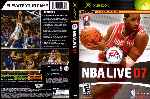 miniatura Nba Live 07 Dvd Por Ubalsoft cover xbox