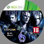 miniatura Resident Evil 6 Cd2 Custom Por Nitsuga256 cover xbox