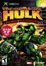 miniatura The Incredible Hulk Ultimate Destruction Frontal Por Humanfactor cover xbox