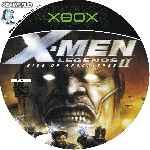 miniatura X Men Legends 2 Rise Of Apocalypse Cd Custom Por Seaworld cover xbox