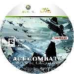 miniatura Ace Combat 6 Fires Of Liberation Cd Custom Por Alex666ctba cover xbox360