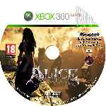 miniatura Alice Madness Returns Cd Custom V4 Por Burgman250cc cover xbox360