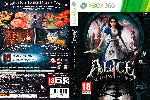 miniatura Alice Madness Returns Dvd Por Miritafreak cover xbox360