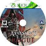 miniatura Assassins Creed Rogue Cd Custom Por Angel Vengador cover xbox360