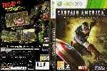 miniatura Capitan America Super Soldier Dvd Custom V2 Por Ravenn cover xbox360
