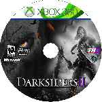miniatura Darksiders 2 Cd Custom V2 Por Angel Vengador cover xbox360