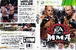 miniatura Easports Mma Dvd Custom Por Airetupal cover xbox360
