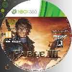 miniatura Fable Iii Cd Custom V2 Por Azufre cover xbox360