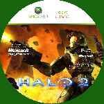 miniatura Halo 2 Cd Custom Por Manolosum cover xbox360