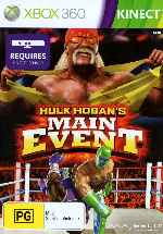 miniatura Hulk Hogans Main Event Frontal Por Humanfactor cover xbox360