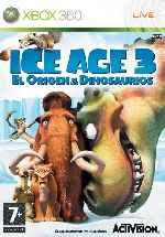 miniatura Ice Age 3 El Origen De Los Dinosaurios Frontal Por Javilonvilla cover xbox360