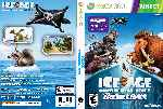 miniatura Ice Age Continental Drift Arctic Games Dvd Custom Por Dasapi cover xbox360
