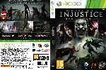 miniatura Injustice Gods Among Us Dvd Custom V2 Por Fer2264 cover xbox360
