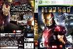 miniatura Iron Man Dvd Custom V2 Por Trompozx cover xbox360