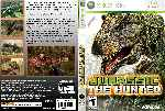 miniatura Jurassic The Hunted Dvd Custom V2 Por Evilnightmare cover xbox360