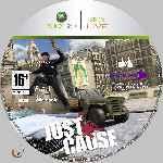 miniatura Just Cause Cd Custom V2 Por Azufre cover xbox360