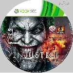 miniatura Justice Gods Among Us Cd Custom Por Mts Vagos cover xbox360