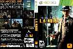miniatura L A Noire Dvd Custom V3 Por Solidusx cover xbox360