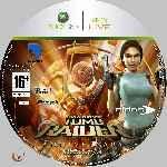 miniatura Lara Croft Tomb Raider Anniversary Cd Custom Por Azufre cover xbox360