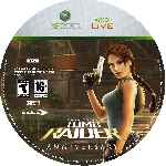 miniatura Lara Croft Tomb Raider Anniversary Cd Custom V3 Por D Maxy cover xbox360
