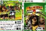 miniatura Madagascar 2 Dvd Custom V2 Por Lordkloud cover xbox360