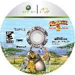 miniatura Madagascar 2 Escape Africa Cd Custom Por Sprece cover xbox360