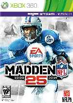miniatura Madden Nfl 25 Frontal Por N3vr0m4nt3 cover xbox360