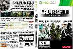 miniatura Metal Gear Solid Hd Collection V2 Por Sapelain cover xbox360