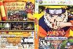 miniatura Naruto Rise Of A Ninja Dvd Por Stone87 cover xbox360