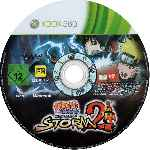 miniatura Naruto Shippuden Ultimate Ninja Storm 2 Cd Por Pred10 cover xbox360