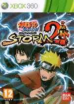 miniatura Naruto Shippuden Ultimate Ninja Storm 2 Frontal Por Humanfactor cover xbox360