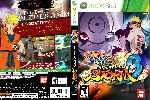 miniatura Naruto Shippuden Ultimate Ninja Storm 3 Dvd Custom Por Solidusx cover xbox360