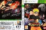miniatura Naruto Shippuden Ultimate Ninja Storm 3 Dvd Por Sergiofalcuan cover xbox360