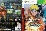 miniatura Naruto Shippuden Ultimate Ninja Storm Generations Dvd Custom Por Solidusx cover xbox360