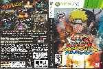 miniatura Naruto Shippuden Ultimate Ninja Storm Generations Dvd Por Sergiofalcuan cover xbox360