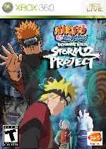 miniatura Naruto Shippuden Ultimate Ninja Storm Project 2 Frontal Por Airetupal cover xbox360