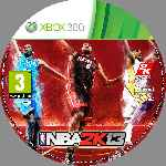 miniatura Nba 2k13 Cd Custom Por Nitsuga256 cover xbox360