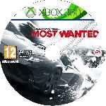 miniatura Need For Speed Most Wanted Cd Custom V4 Por Angel Vengador cover xbox360
