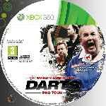 miniatura Pdc World Championship Darts Pro Tour Cd Custom Por Azufre cover xbox360